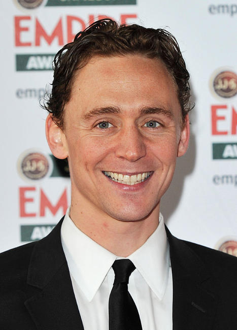 Tom Hiddleston at the Jameson Empire Awards 2011 in London.